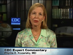 Image from the Medscape video: Ebola: The Risk to International Travelers with  Dr. Phyllis Kozarsky, with the Travelers' Health Branch at the Centers for Disease Control and Prevention.