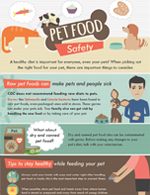 thumbnail image of pet food safety infographic