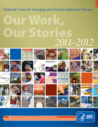 Cover of the 2011-2012 Our Work Our Stories