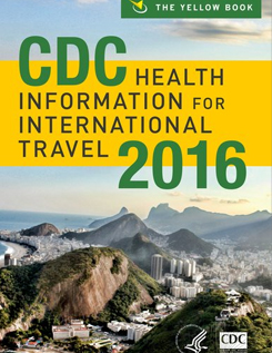 Cover of CDC Yellow Book 2016