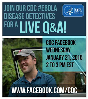 facebook photo advertising a facebook Q&A on Jan 21st.