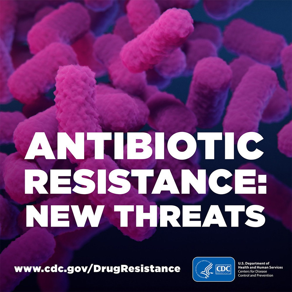 Antibiotic Resitance: New Threat banner