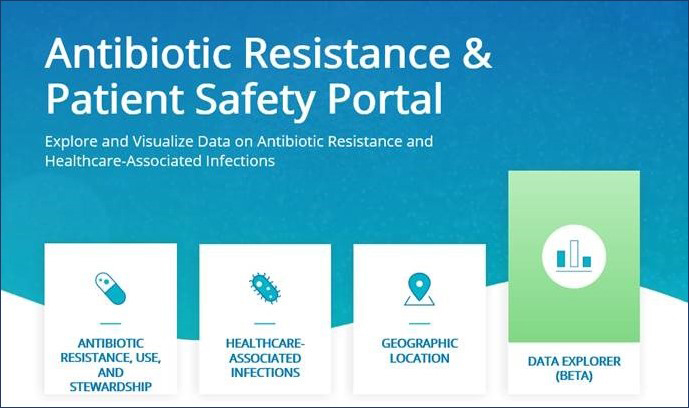 Antibiotic Resistance & Patient Safety Portal screenshot