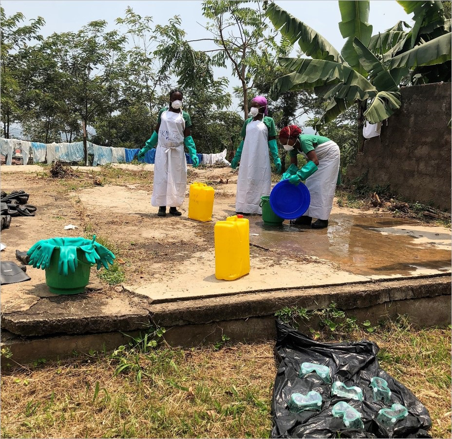 Strengthening Ebola prevention and control