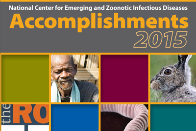 Partial image of the cover for NCEZID Accomplishments 2015