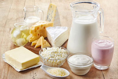 an image of a group of dairy products