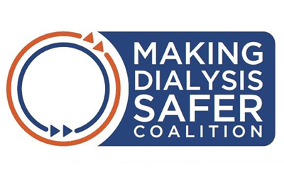 Image of a logo saying: Making Dialysis Safer Coalition