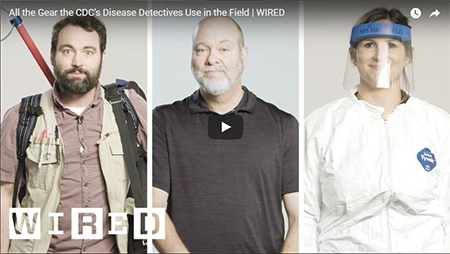 screenshot of wired video called the disease detectives