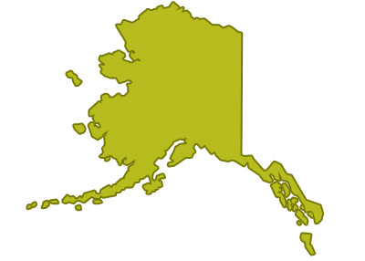 outline of alaska