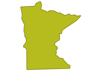 outline of minnesota