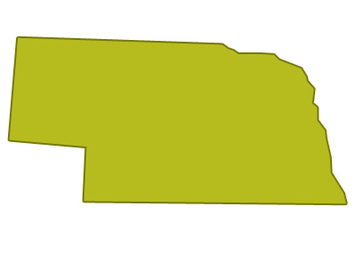 outline of nebraska