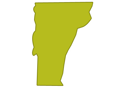 outline of vermont