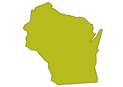 outline of wisconsin