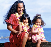 Photo of Native Hawaiian/Pacific Islander family