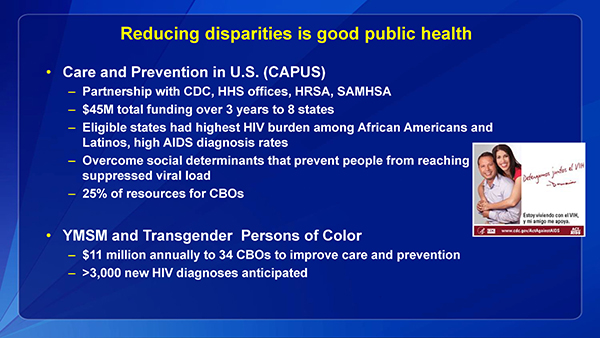Reducing disparities is good public health