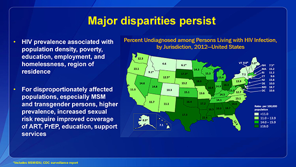 Major disparities persist