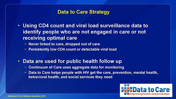 Data to Care Strategy