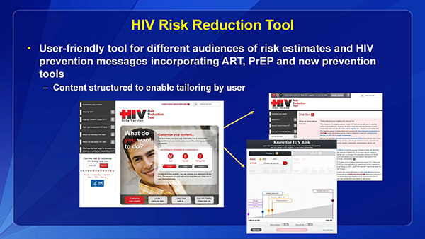 HIV Risk Reduction Tool
