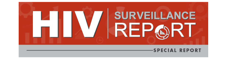 HIV surveillance report cover
