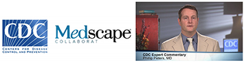 Medscape logo and Philip Peters