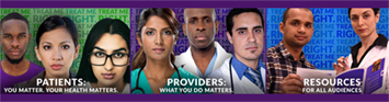 PATIENTS: YOU MATTER. YOUR HEALTH MATTERS; PROVIDERS: WHAT YOU DO MATTERS; RESOURCES