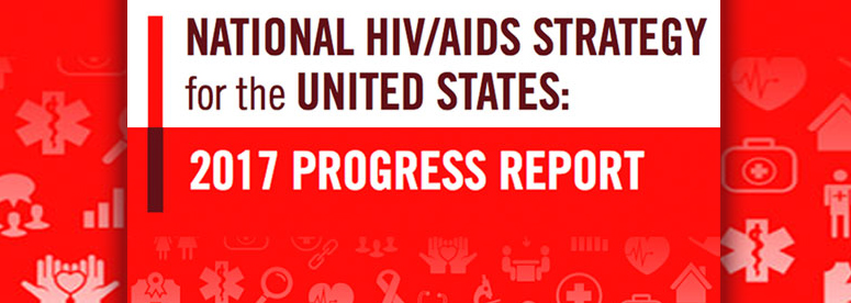 National HIV/AIDS Strategy Progress Report cover