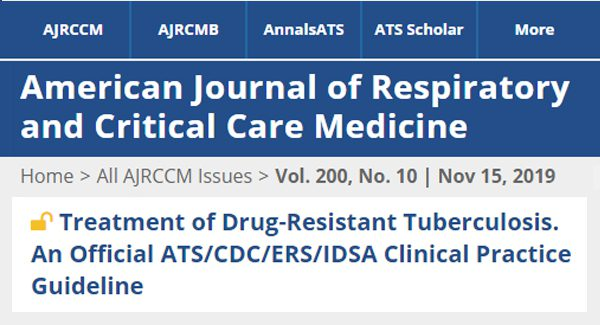 MDR-TB clinical guidelines article
