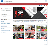 Let's Stop HIV Together website