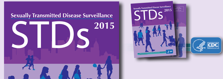 2015 STD Surveillance Report cover