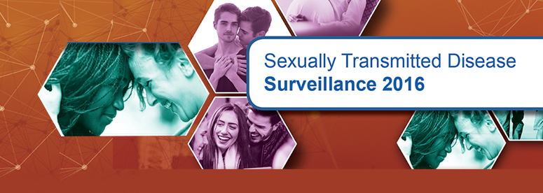 2016 STD Surveillance Report front cover