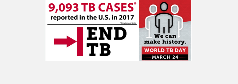 We can make history, END TB