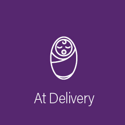 """At Delivery"""
