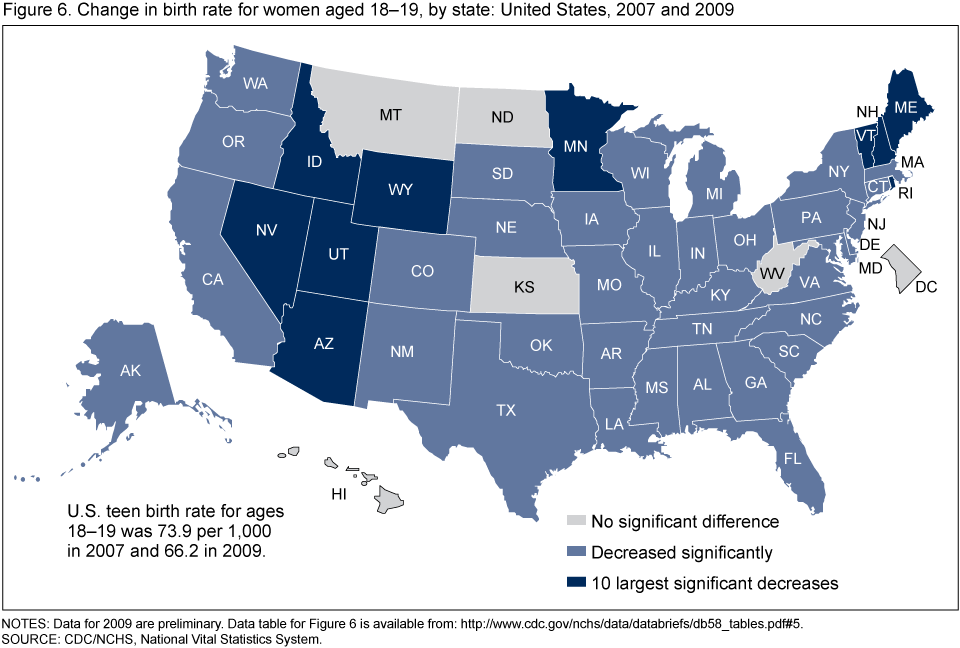 Products Data Briefs Number February - Data map of us