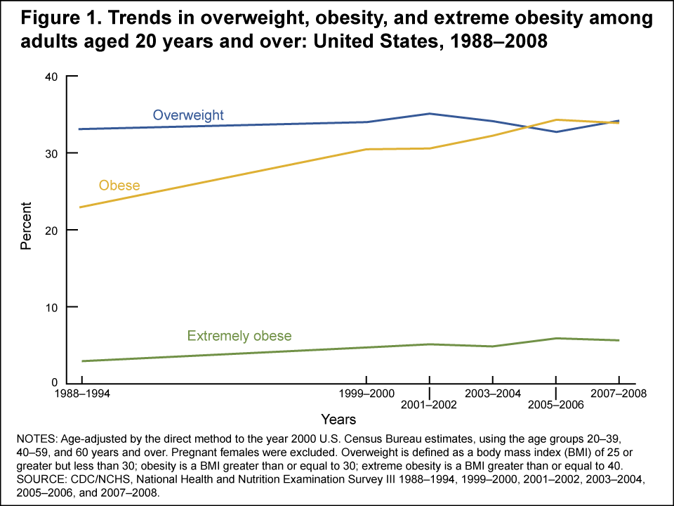 Obesity Statistics United States and Across the Globe