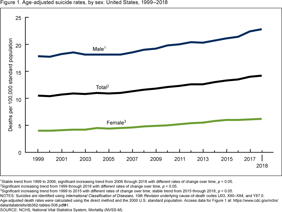 Suicide Rate in America Rising Among Youngsters - Next ...
