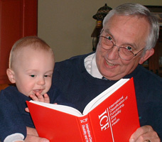 photo of Gerry Hendershot with grandson Thomas