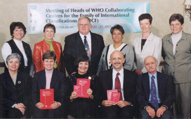 Photo of North Americans representing the WHO Collaborating Centre for the Family of International Classifications for North America