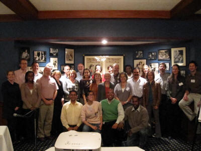 Group photo from the ICE on Injury Statistics meeting in Boston MA on October 9th and 10th