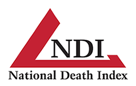 National Death Index graphic