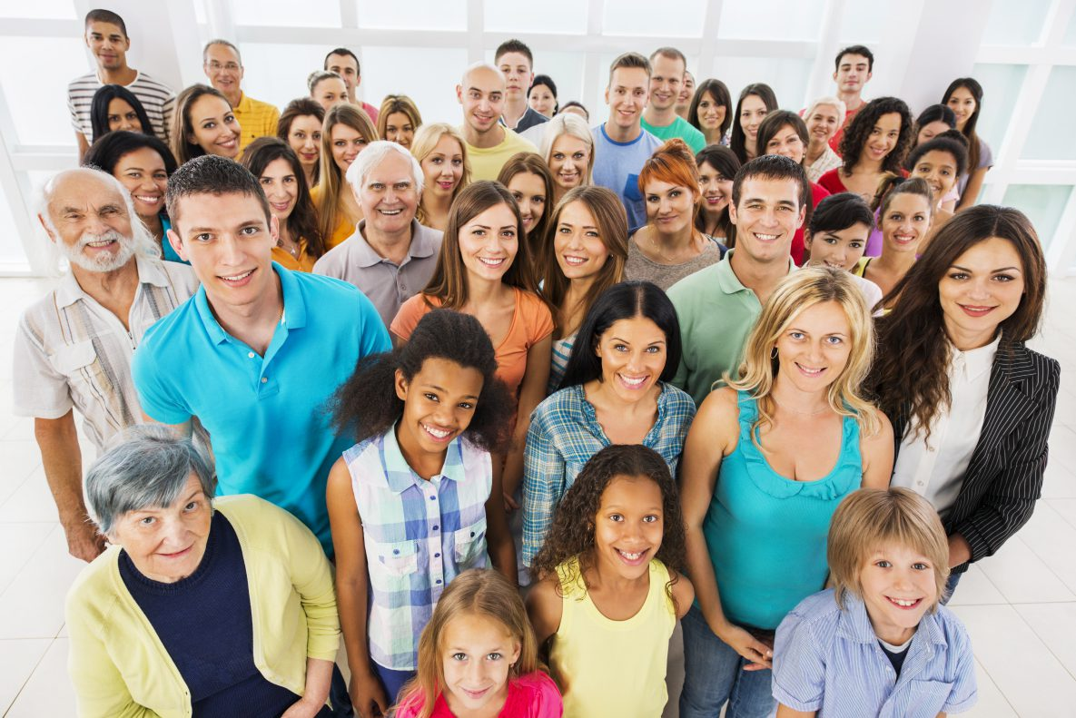 Picture of group of diverse people