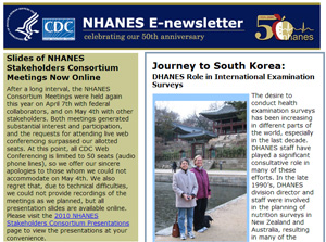 NHANES E Newsletter June 2010