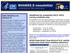 NHANES E Newsletter June 2009