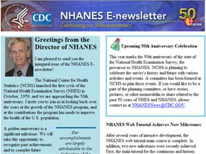 NHANES E Newsletter March 2009