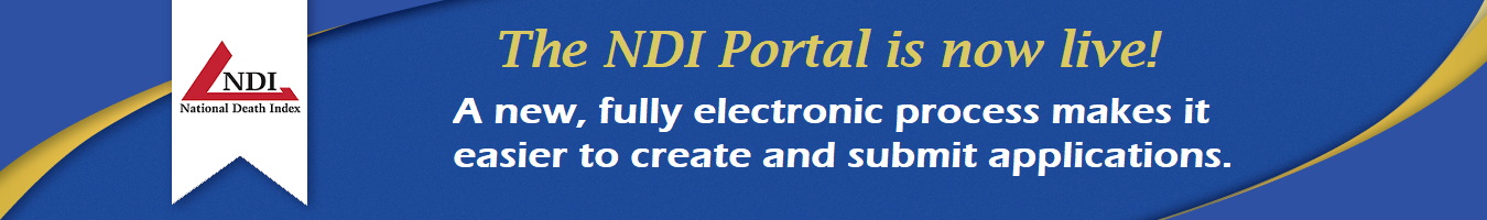 The NDI portal is now live!