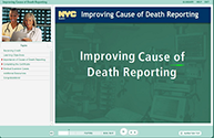 Screenshot for Cause of Death Reporting Training