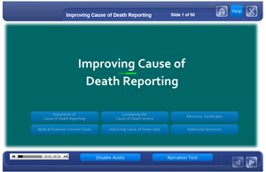 Improving Cause of Death Reporting