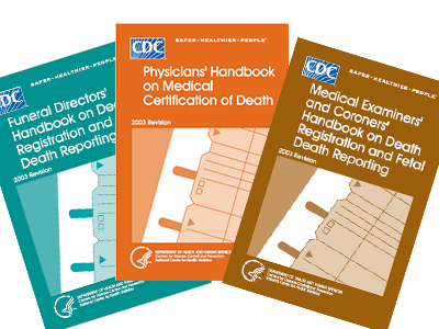 Handbooks for coding and classification of vital records