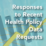 Responses to Recent Health Policy Data Requests