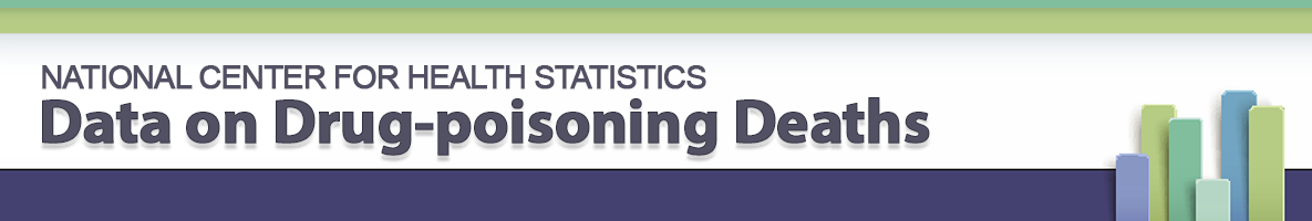 NCHS Data on Drug Poisoning Deaths