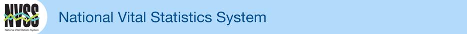 National Vital Statistics System